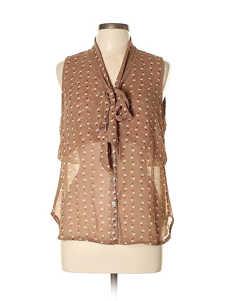 Esley Women Sleeveless Blouse Size L