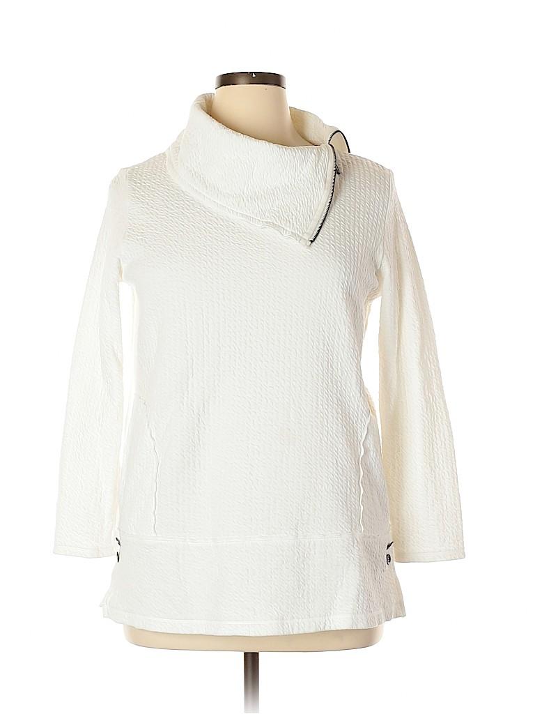 Neon Buddha Women Pullover Sweater Size L