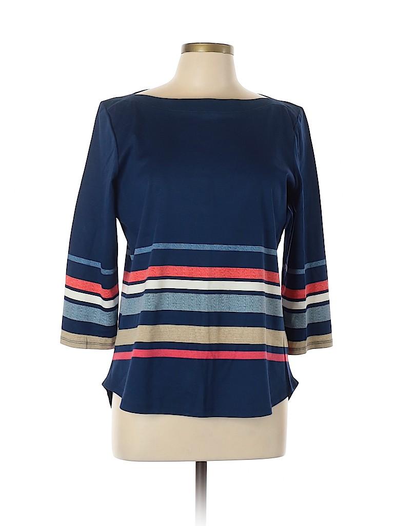 Liz Claiborne Women 3/4 Sleeve Top Size L