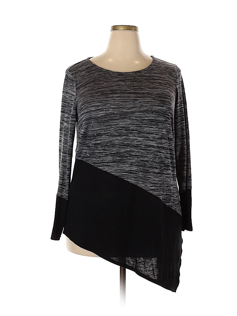 Alyx Women Long Sleeve Top Size 2X (Plus)