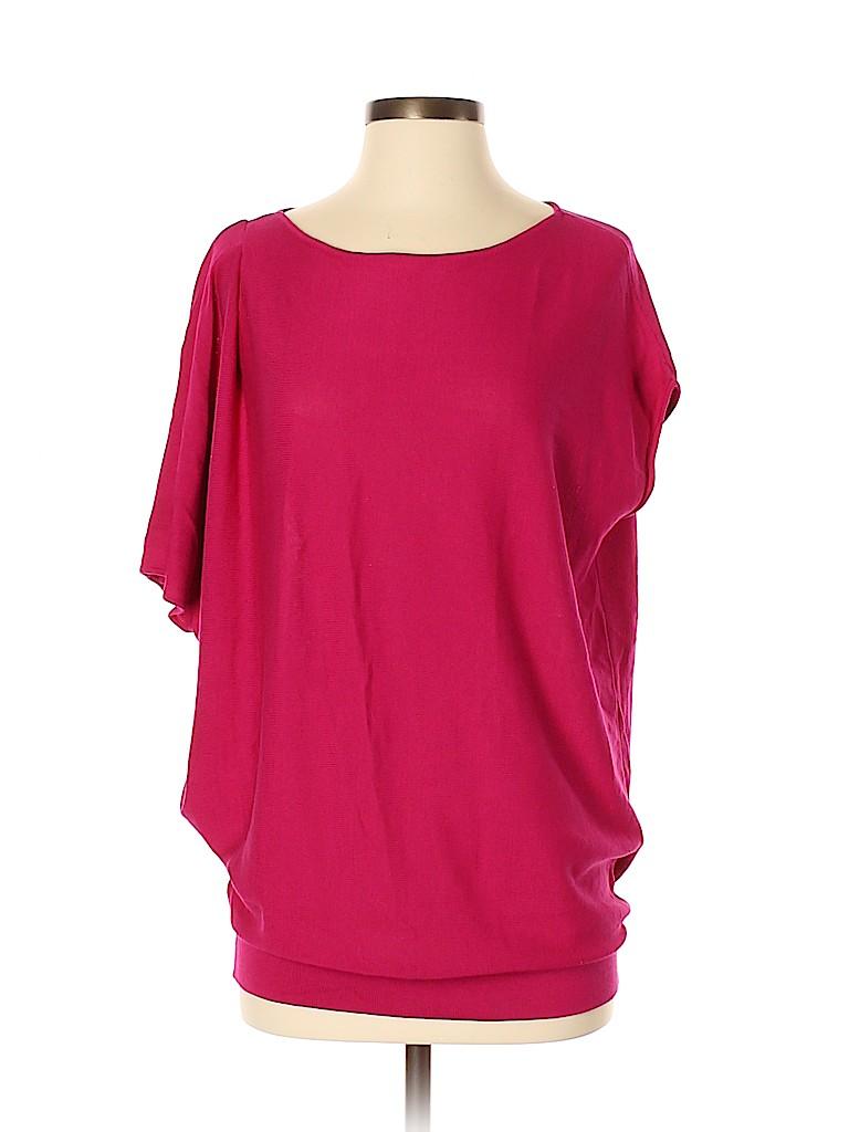 Josie Natori Women Silk Pullover Sweater Size XS