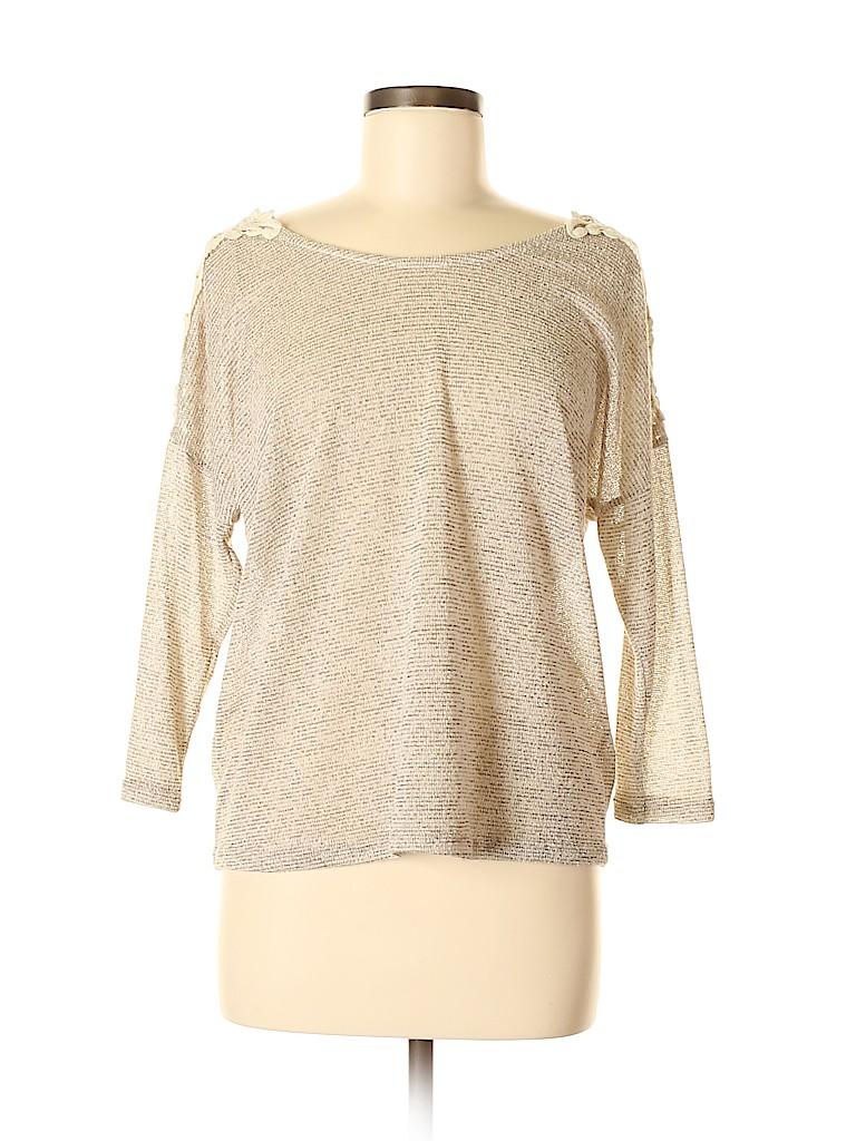 Blu Pepper Women 3/4 Sleeve Top Size S