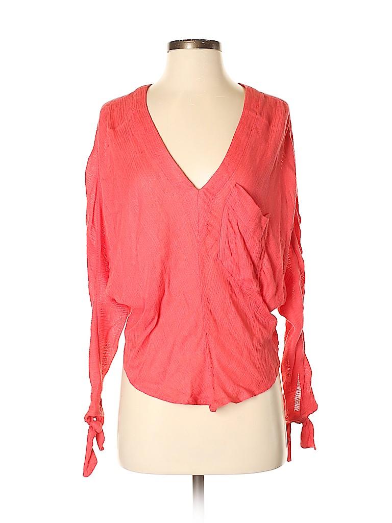 Free People Women Long Sleeve Blouse Size XS
