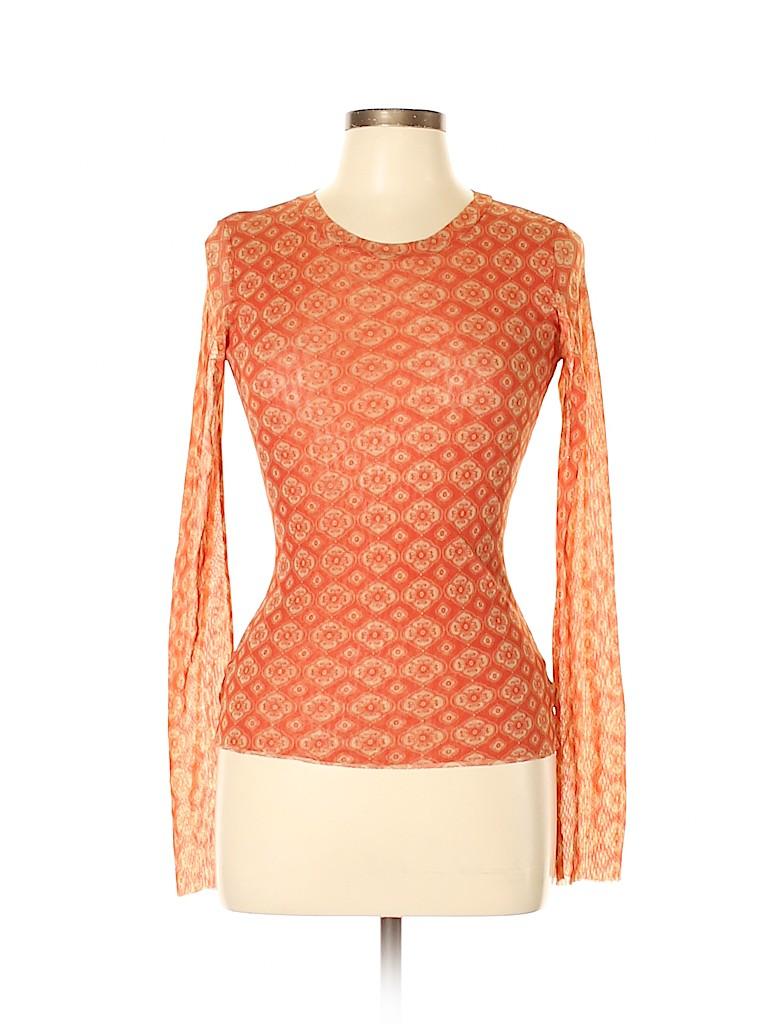 Sweet Pea by Stacy Frati Women Long Sleeve Top Size L