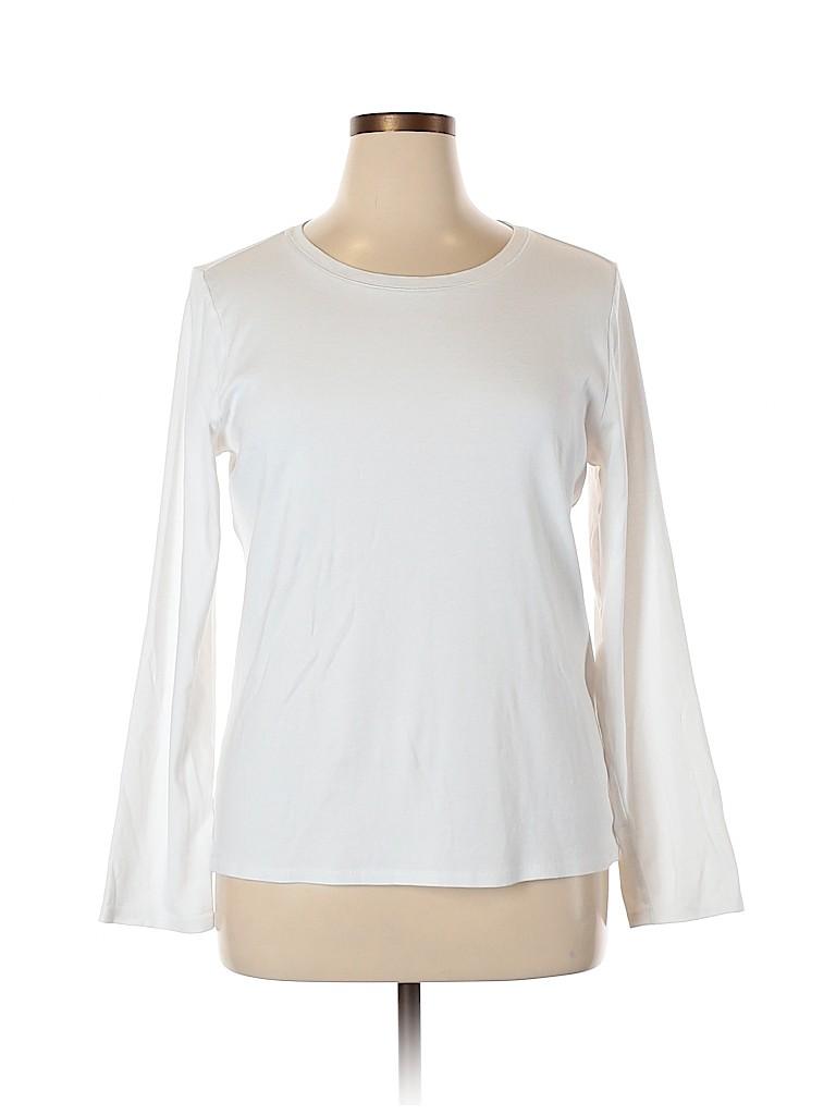 J.jill Women Long Sleeve T-Shirt Size XL