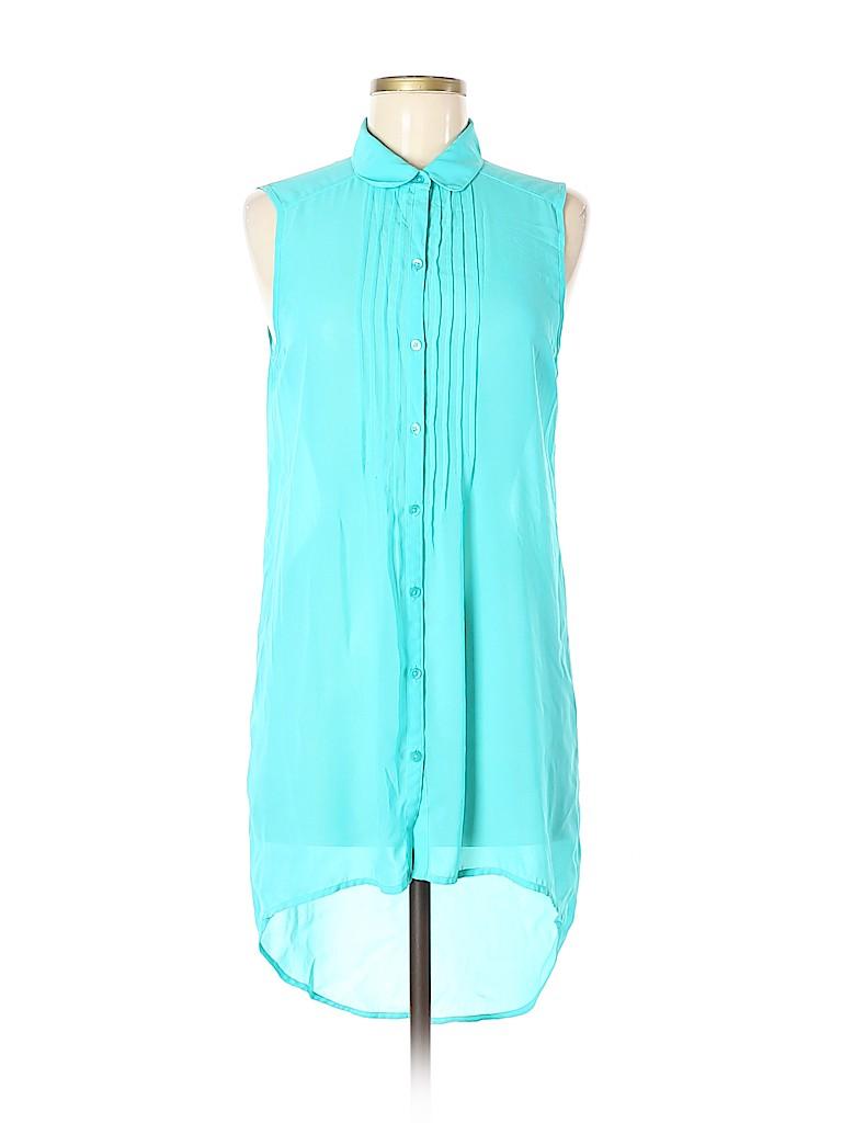 14th & Union Women Sleeveless Blouse Size S