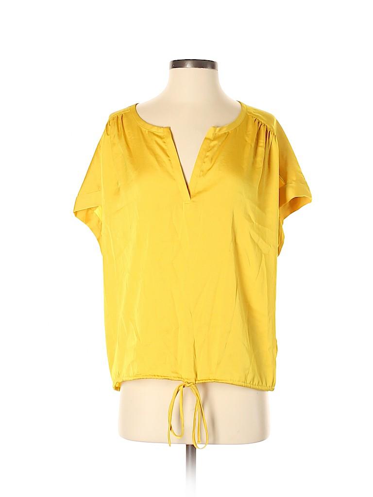 Vivienne Vivienne Tam Women Short Sleeve Blouse Size S