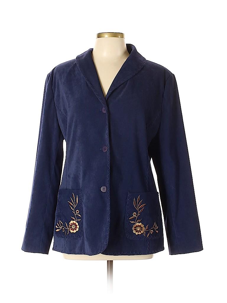 Susan Graver Women Jacket Size L