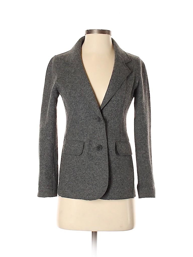 Talbots Women Wool Blazer Size 2