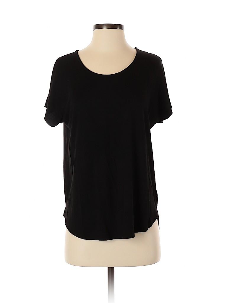 St. Tropez West Women Short Sleeve Top Size M