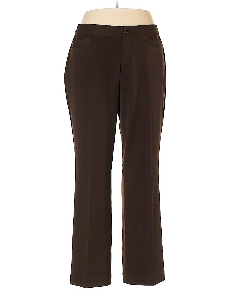 Cj Banks Women Dress Pants Size 14W