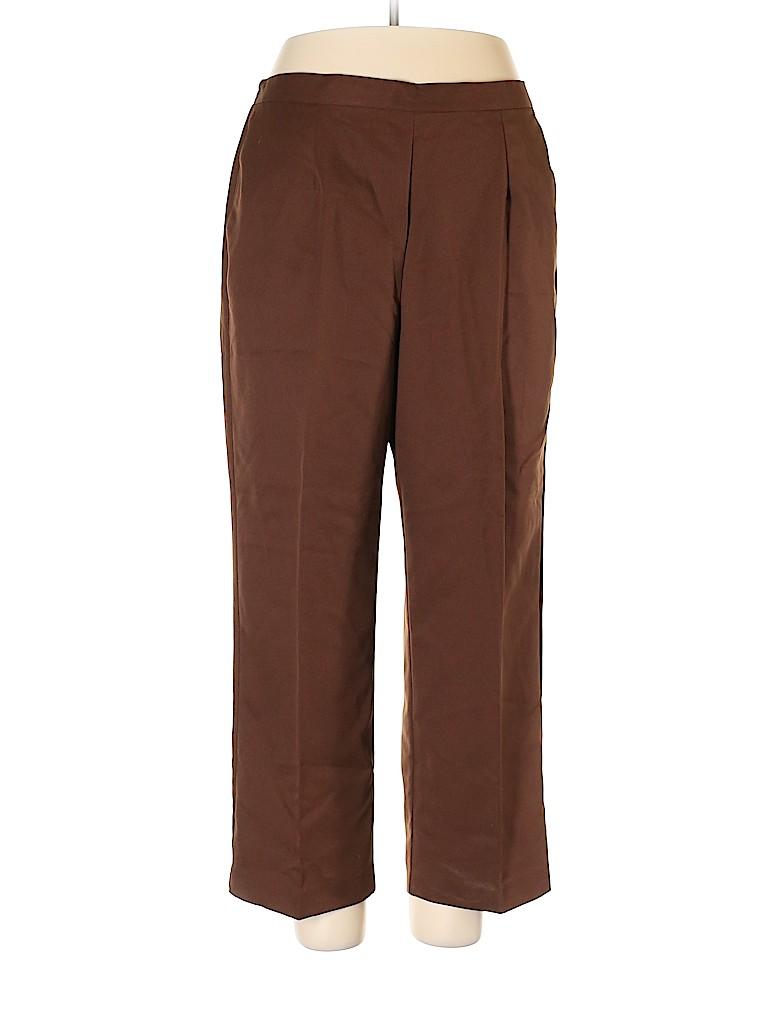 Alfred Dunner Women Dress Pants Size 16