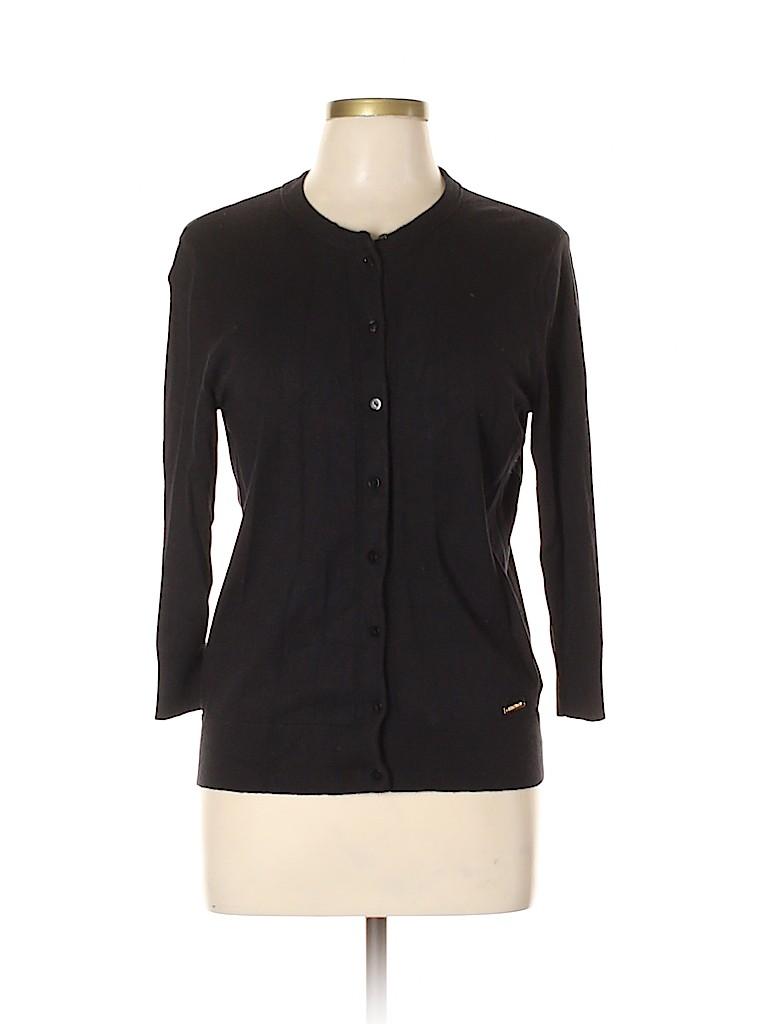 Ellen Tracy Women Cardigan Size L