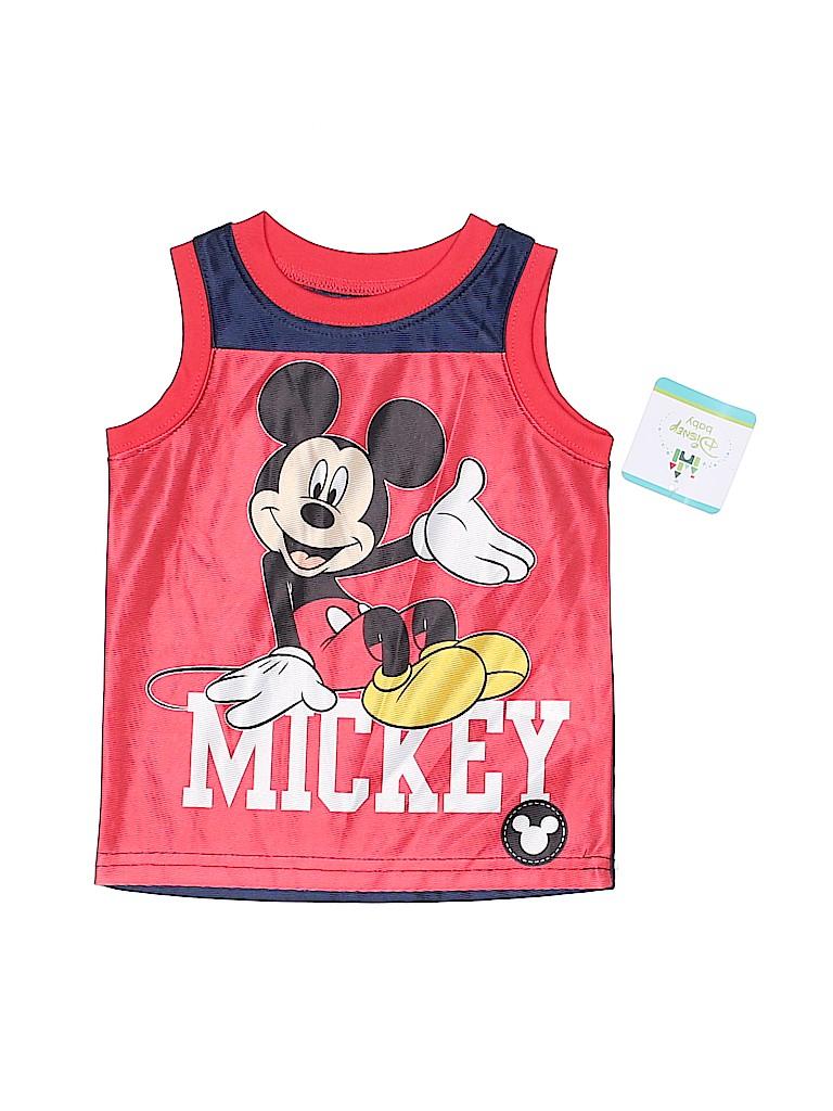 Disney Boys Sleeveless Jersey Size 12 mo