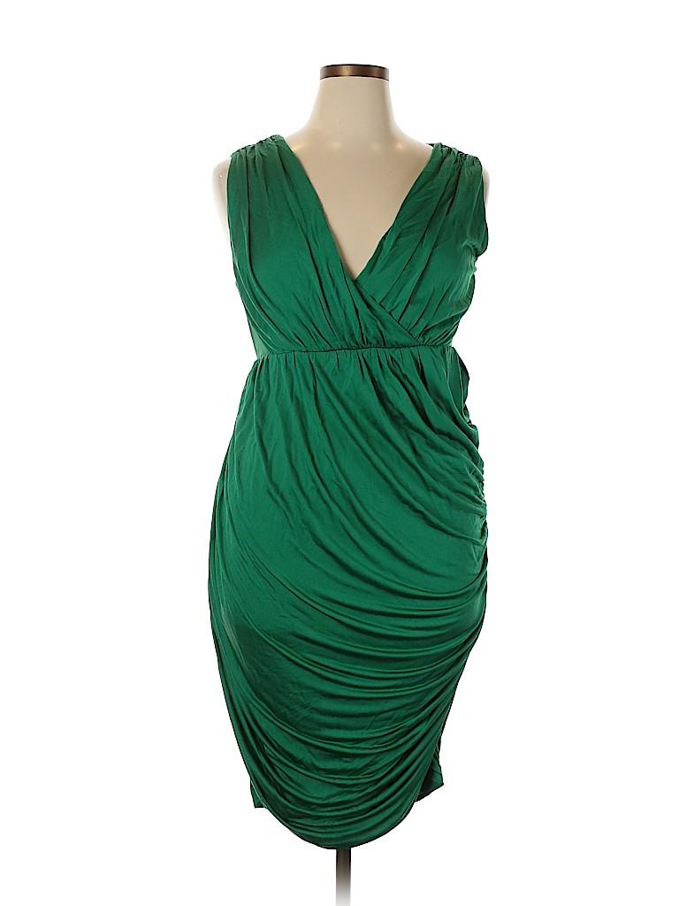 Deletta Women Casual Dress Size L