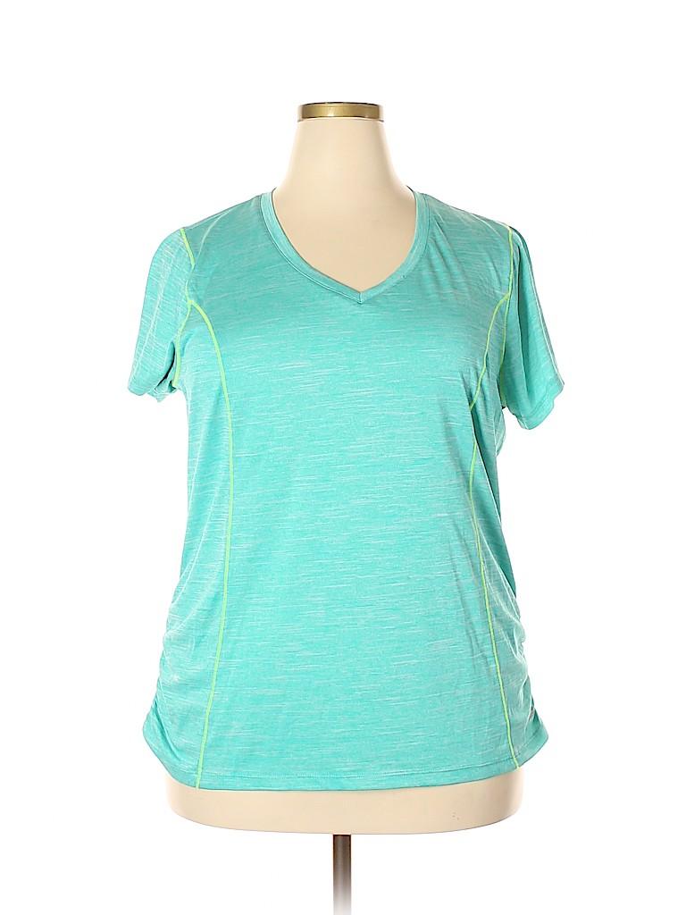 RBX Women Active T-Shirt Size 2X (Plus)