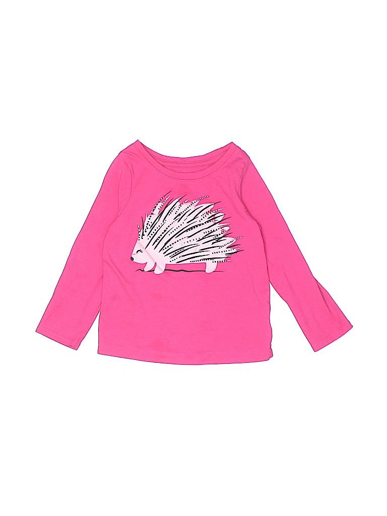 Cat & Jack Girls Long Sleeve T-Shirt Size 2T