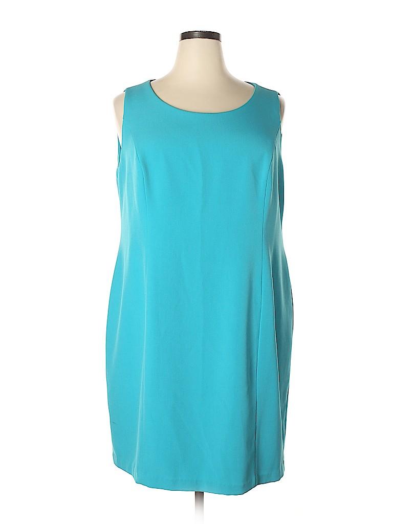 Jones Studio Women Casual Dress Size 18 (Plus)
