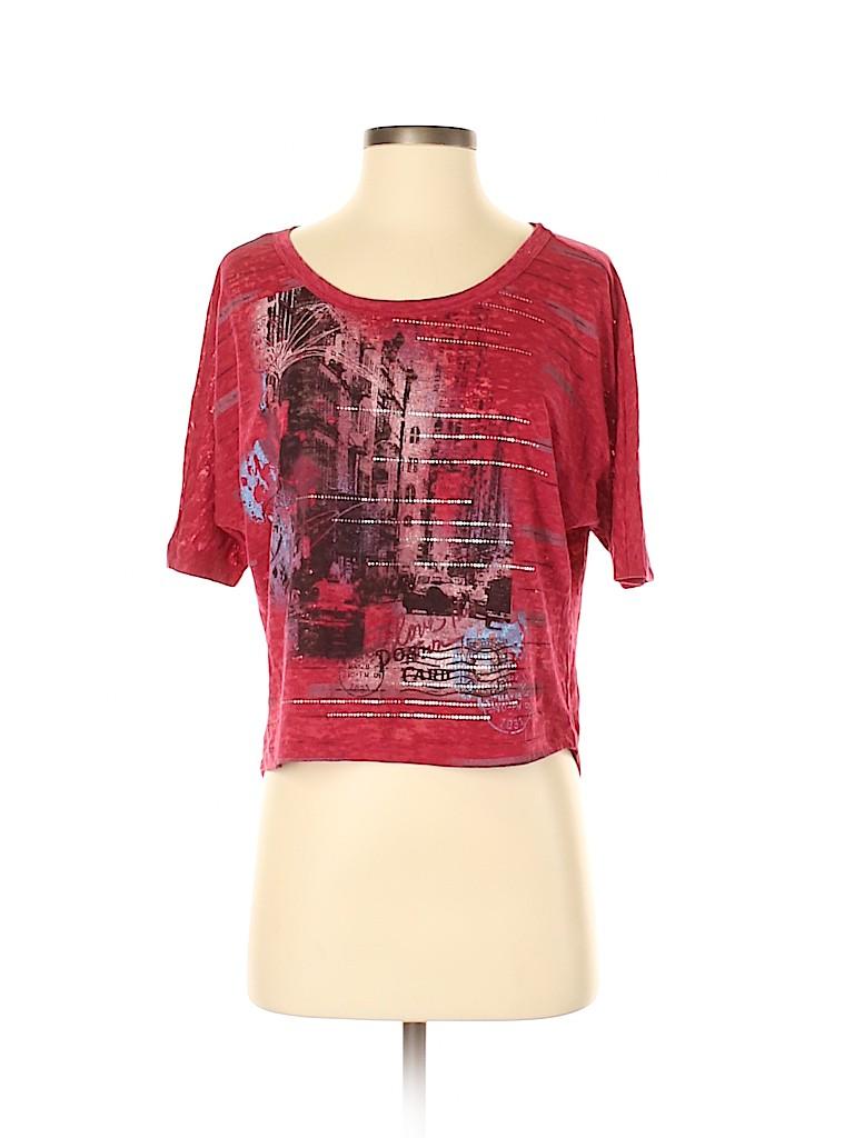 Eyeshadow Women Short Sleeve T-Shirt Size S