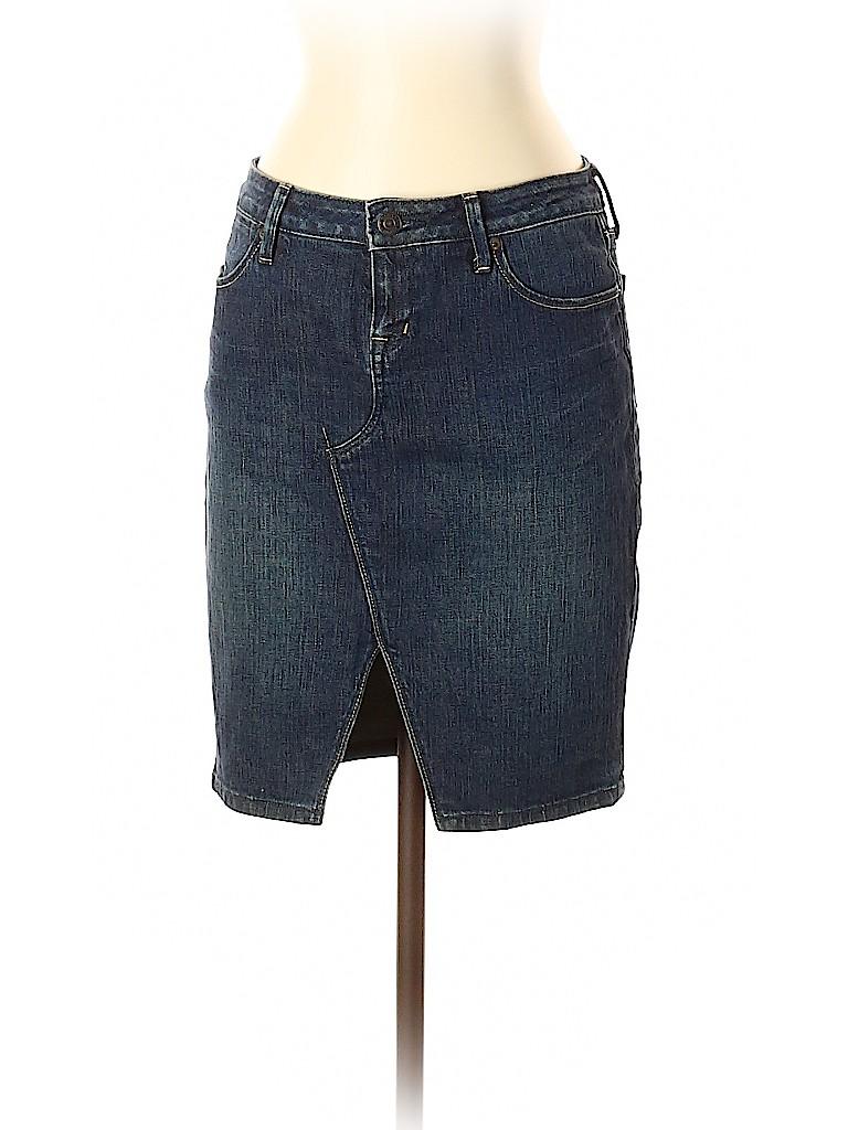 Banana Republic Women Denim Skirt Size 0