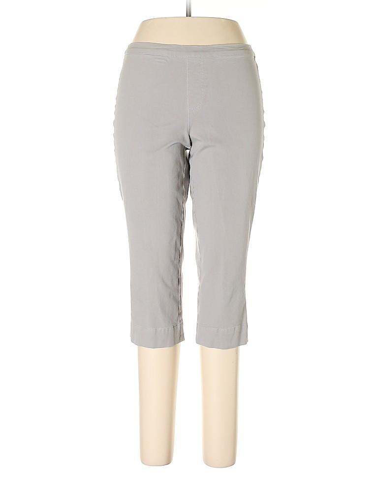 Isaac Mizrahi LIVE! Women Khakis Size 12 (Petite)