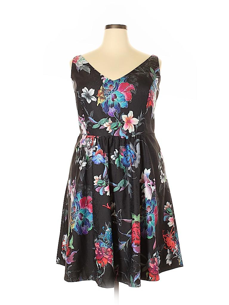 City Chic Women Casual Dress Size 18 (Plus)
