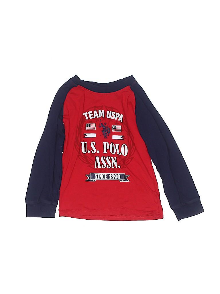 U.S. Polo Assn. Boys Long Sleeve T-Shirt Size 5T