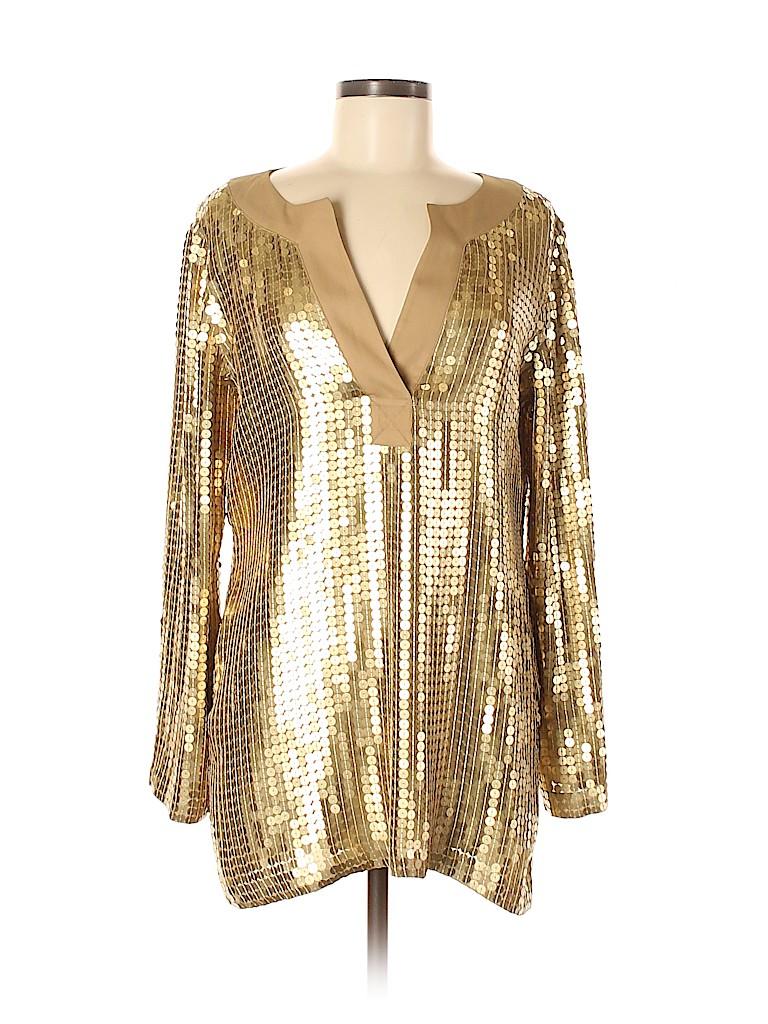 MICHAEL Michael Kors Women Long Sleeve Blouse Size M