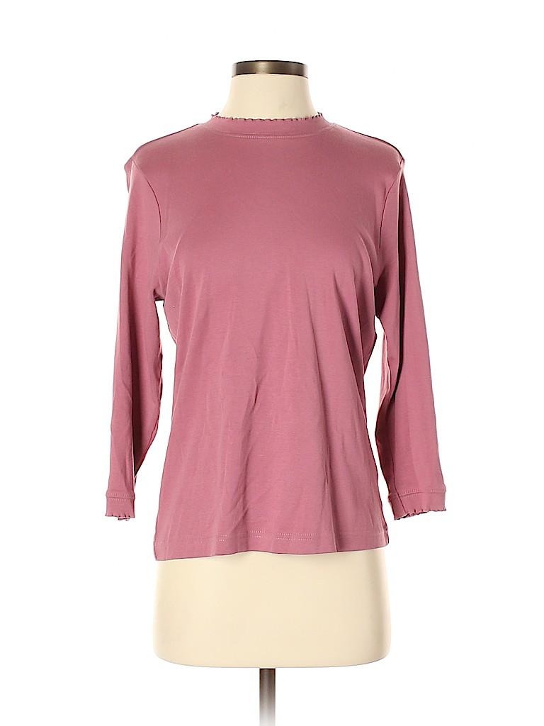 Orvis Women 3/4 Sleeve T-Shirt Size S
