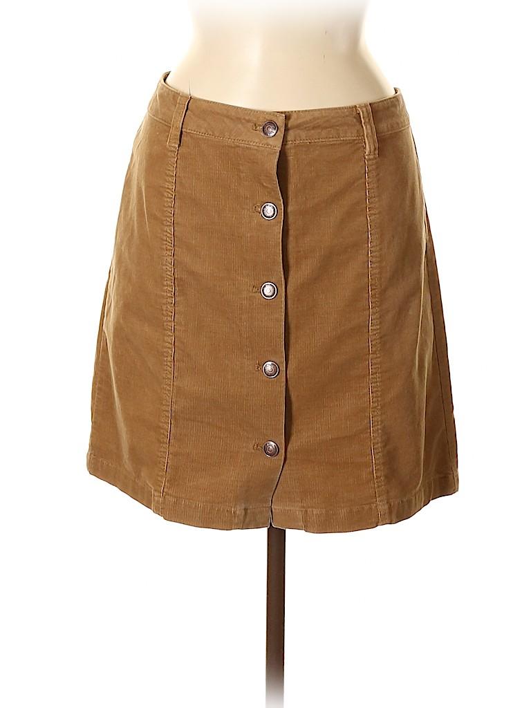G.H. Bass & Co. Women Casual Skirt Size 8