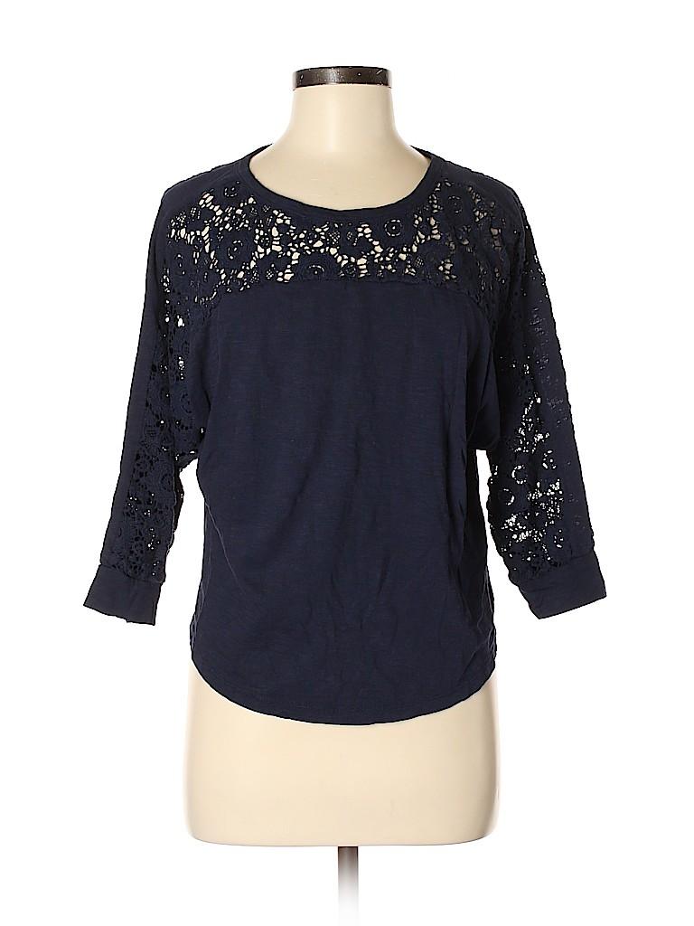 Forever 21 Women 3/4 Sleeve Blouse Size M