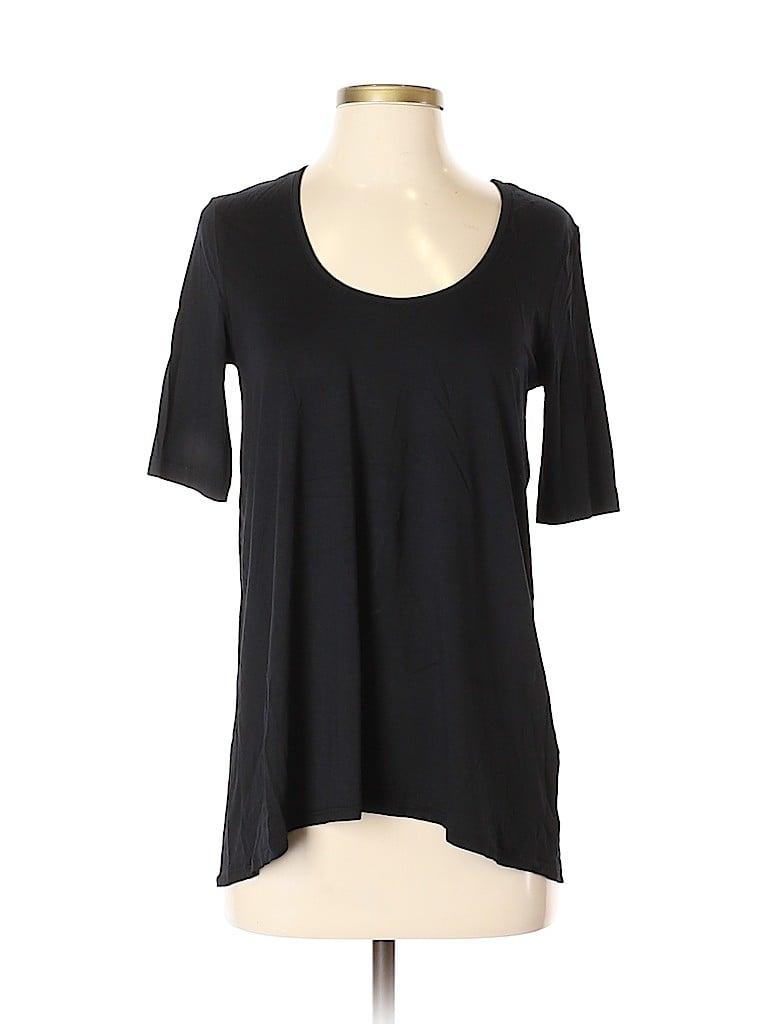 Three Dots Women Short Sleeve T-Shirt Size S