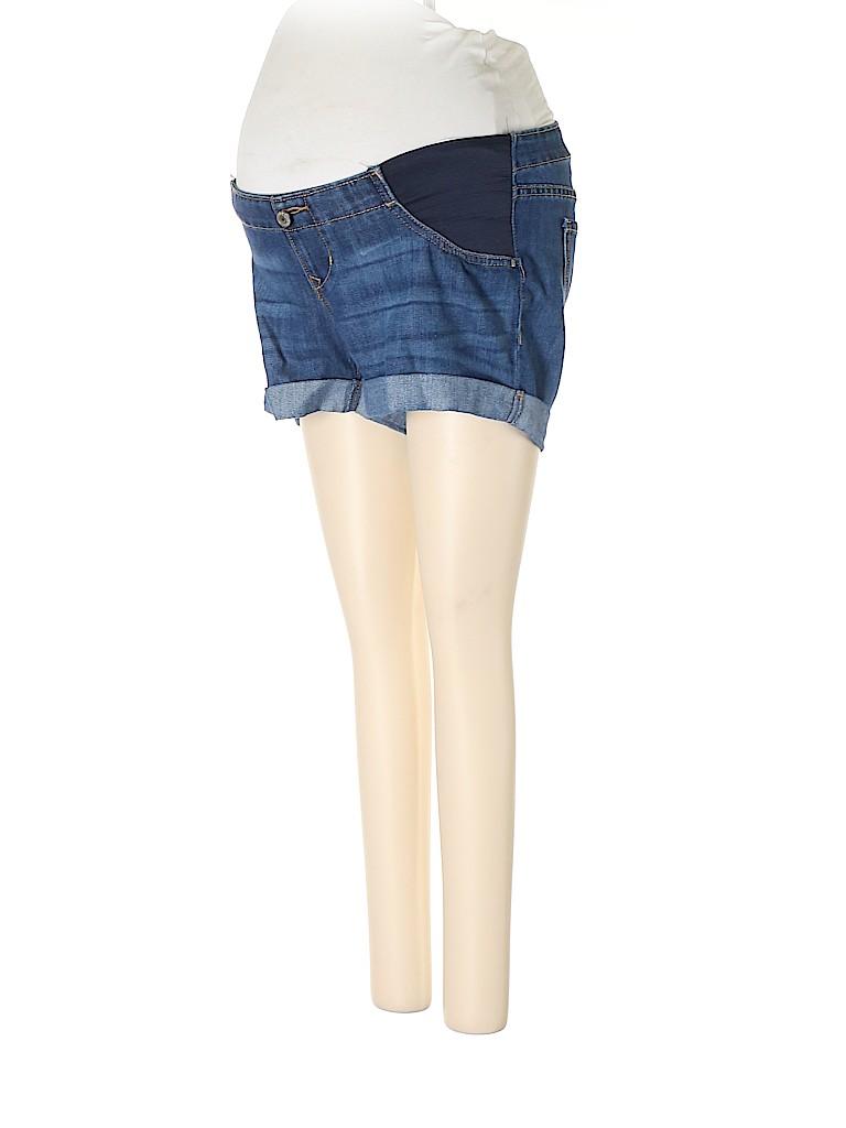 Old Navy - Maternity Women Denim Shorts Size 2 (Maternity)