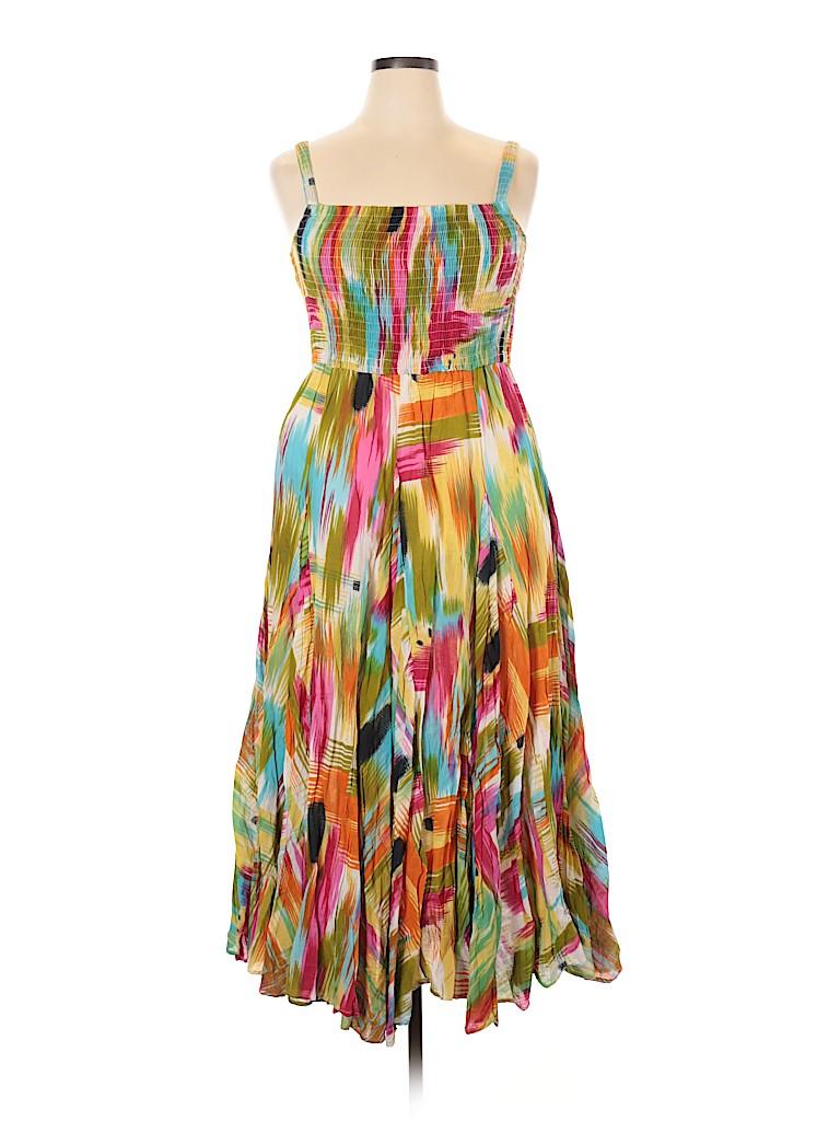 Chelsea & Theodore Women Casual Dress Size L