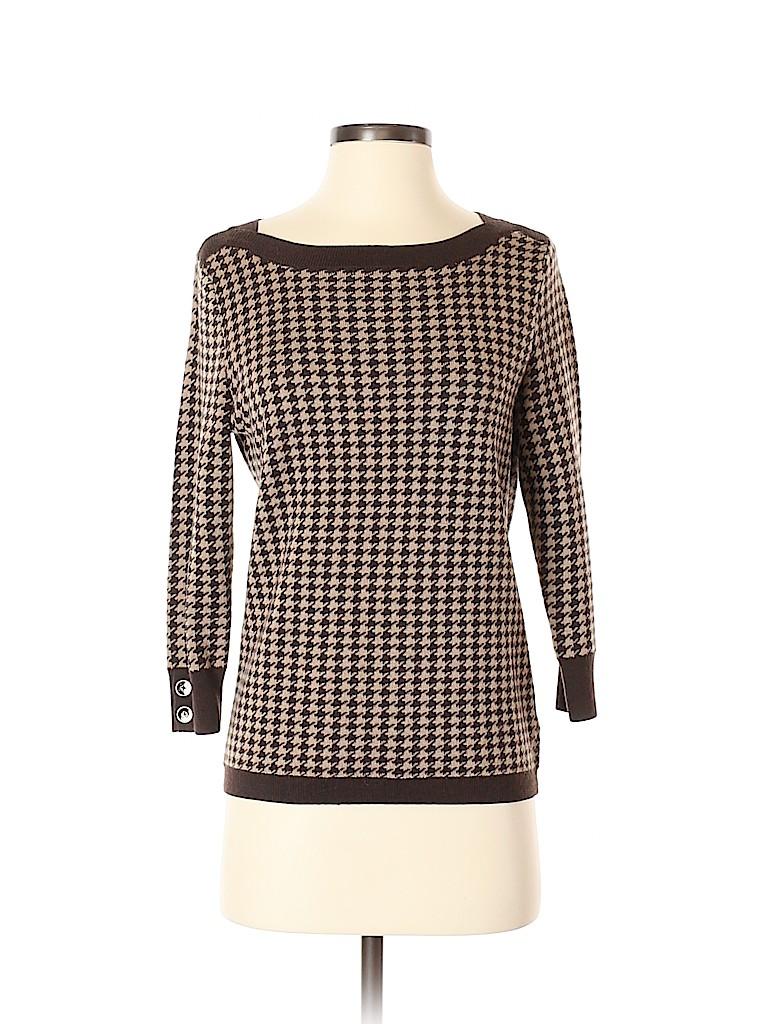 Talbots Women Wool Pullover Sweater Size S (Petite)