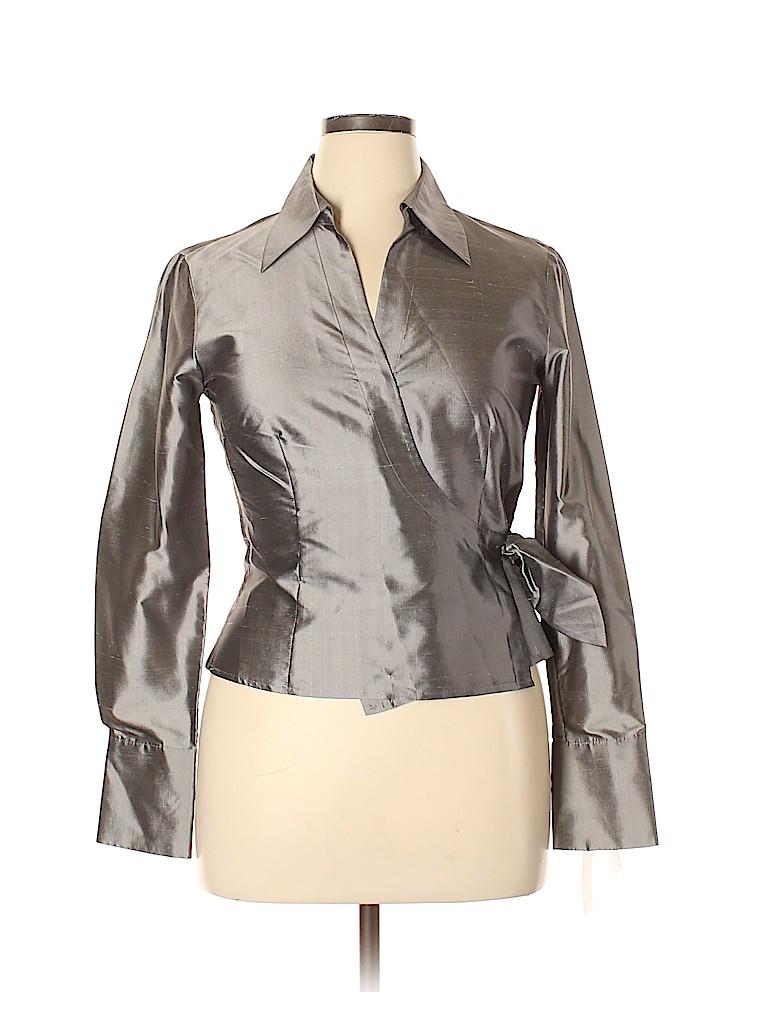 Sunny Leigh Women Long Sleeve Blouse Size 12