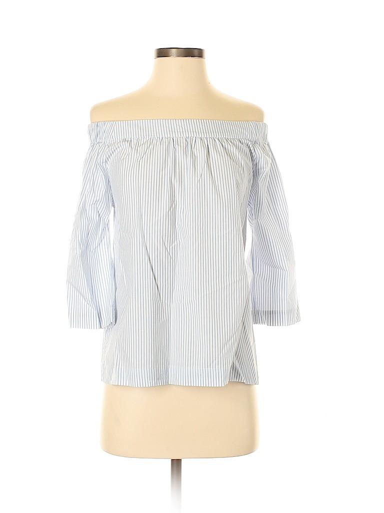 Madewell Women 3/4 Sleeve Blouse Size XS