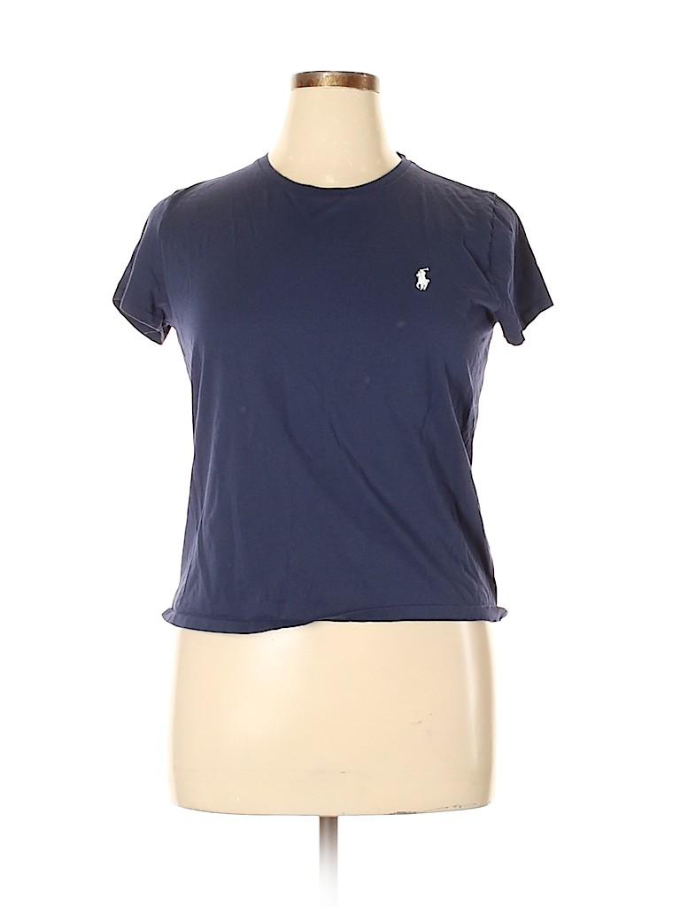 Polo by Ralph Lauren Women Short Sleeve T-Shirt Size XL