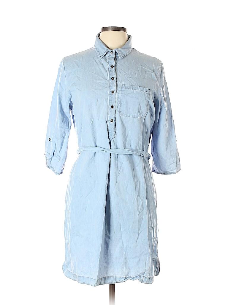 Allison Brittney Women Casual Dress Size L