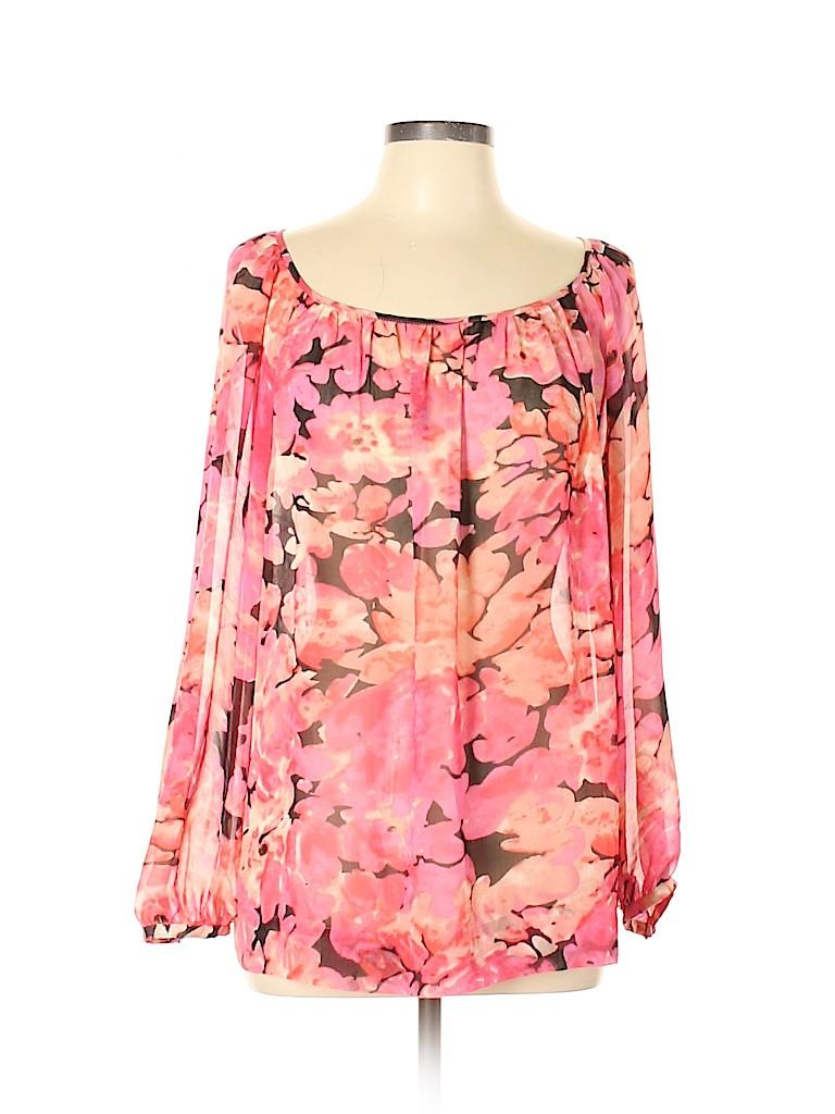 CAbi Women 3/4 Sleeve Blouse Size L