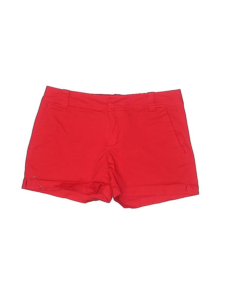 New York & Company Women Khaki Shorts Size 2