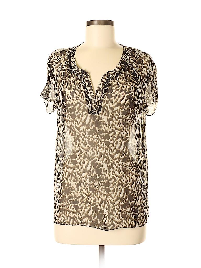 Talbots Women Short Sleeve Blouse Size 8