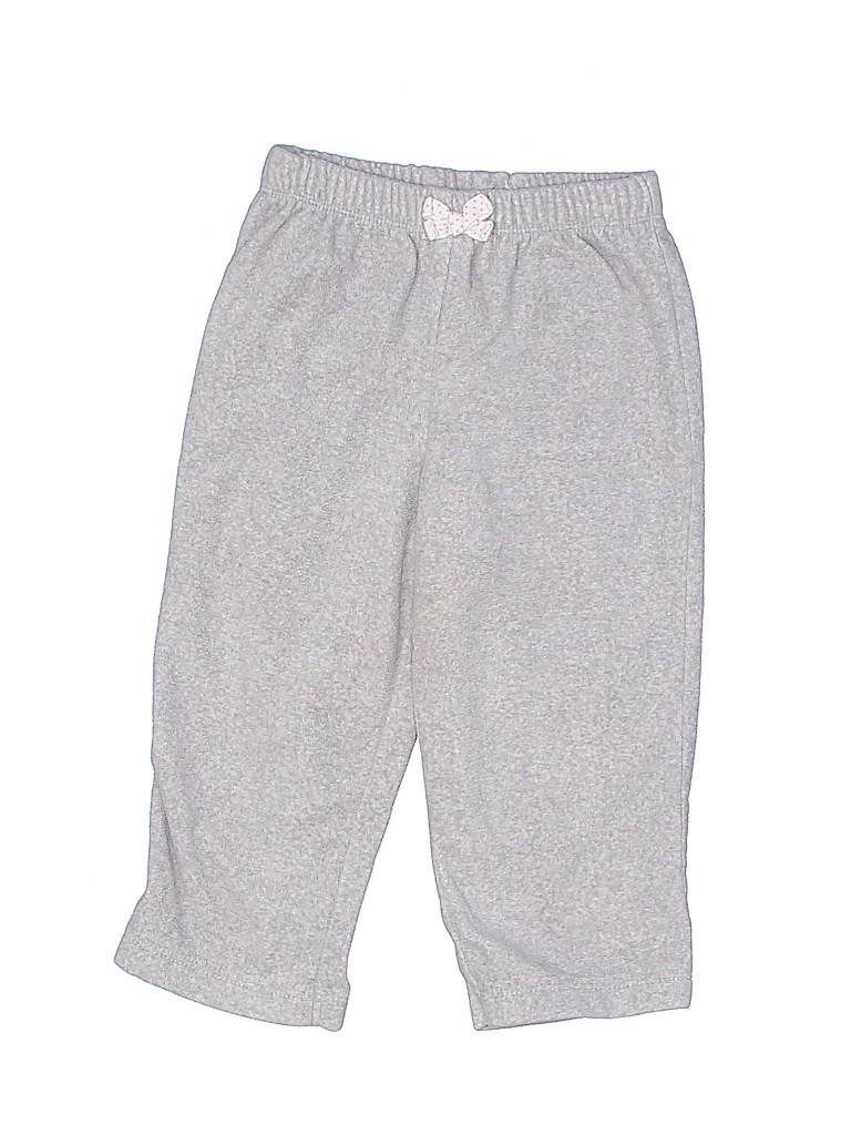 Carter's Girls Fleece Pants Size 18 mo