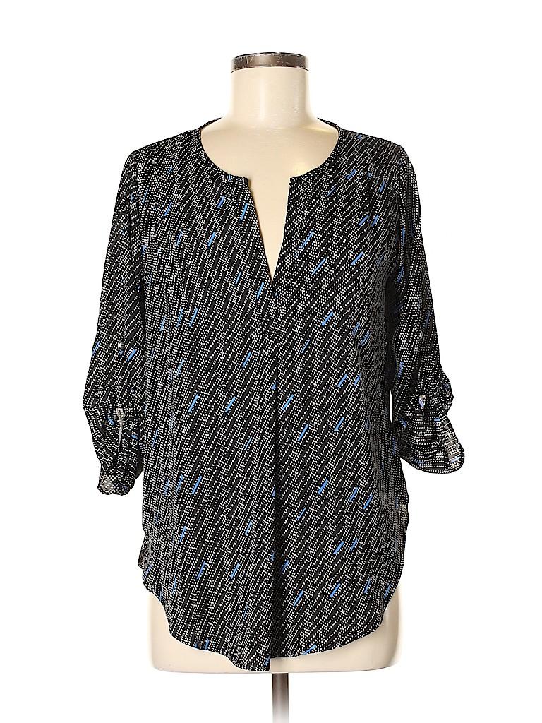 Lush Women 3/4 Sleeve Blouse Size M