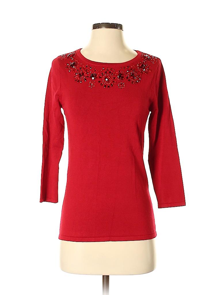 Carmen Carmen Marc Valvo Women 3/4 Sleeve Top Size M