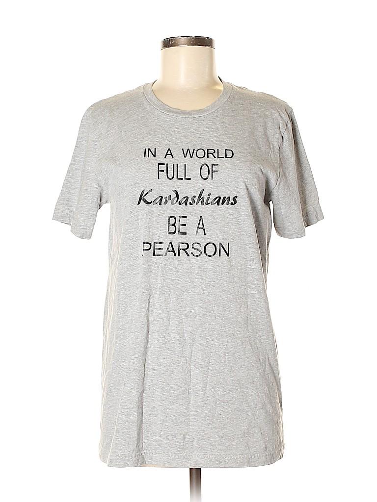 Canvas Women Short Sleeve T-Shirt Size M