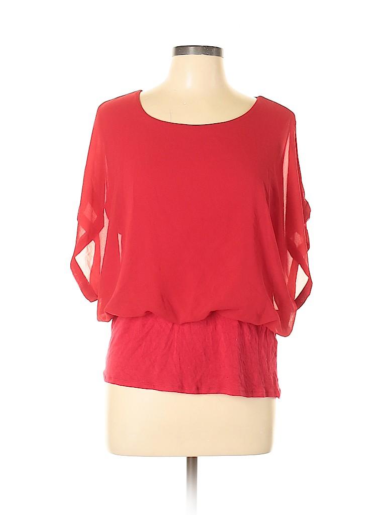 Joseph A. Women Short Sleeve Blouse Size XL