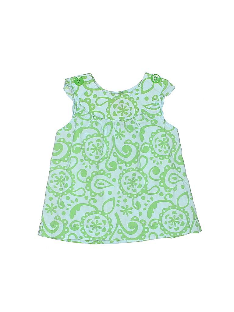Carter's Girls Sleeveless Blouse Size 12 mo