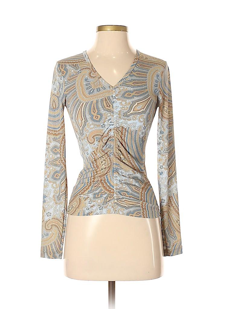 Karen Kane Women Long Sleeve Blouse Size S