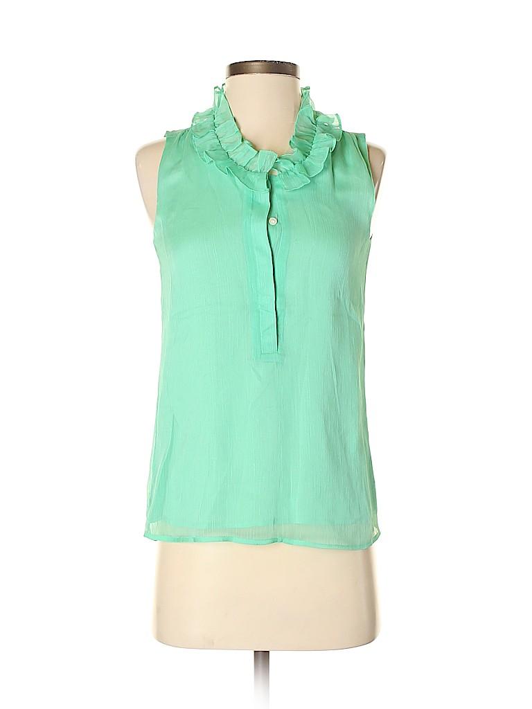 J. Crew Factory Store Women Sleeveless Blouse Size 00